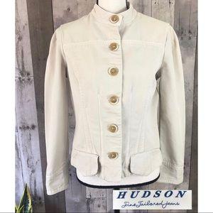 Hudson Fine Tailored Button Up Jean Jacket